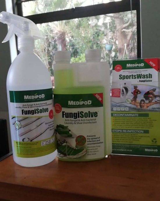 Efficacy of Fungisolve against coronaviruses